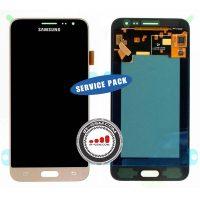 تاچ ال سی دی سامسونگ سرویس پک طلایی LCD SAMSUNG J320 J3 2016