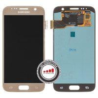 تاچ ال سی دی سامسونگ LCD SAMSUNG S7 G930 اورجینال طلایی