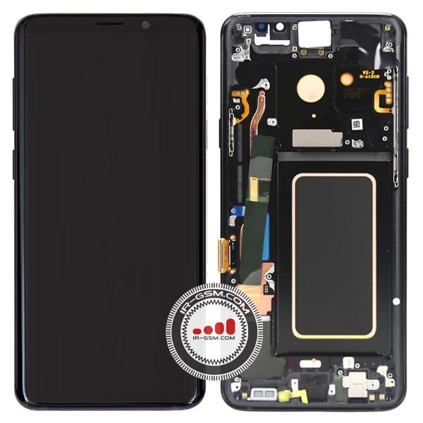 تاچ ال سی دی سامسونگ سرویس پک مشکی LCD SAMSUNG G965 S9 PLUS