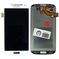 تاچ ال سی دی سامسونگ LCD SAMSUNG i9500 9505 S4 سفید