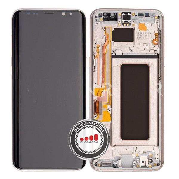 تاچ ال سی دی سامسونگ SAMSUNG S8 PLUS اورجینال طلایی
