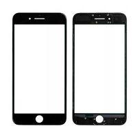گلس تعمیراتی آیفون با فریم اورجینال مشکی GLASS IPHONE 7 PLUS With Frame + OCA black
