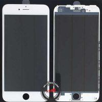 Glass Iphone 6g PLUS WHITE+FREAM+OCA+POLARIZE