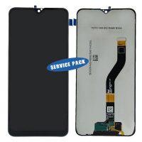 تاچ ال سی دی سامسونگ اورجینال سرویس پک مشکی LCD SAMSUNG A10S A107