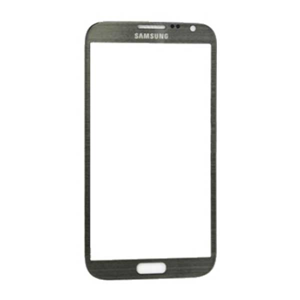 Replacement Front Glass for Samsung Galaxy Note 2 n7100 GREY گلس تعمیراتی سامسونگ