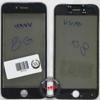 Glass Iphone 8g BLACK+FREAM+OCA+POLARIZE
