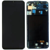 تاچ ال سی دی سامسونگ LCD SAMSUNG a50s / a507 اورجینال شرکتی بافریم مشکی