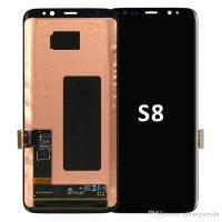 تاچ و ال سی دی گوشی سامسونگ SAMSUNG S8 کارکرده گلس تعویض مشکی