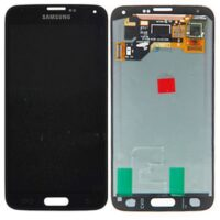 LCD SAMSUNG S5 ORIGINAL NO FRAME BLACK ال سی دی