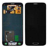 تاچ و ال سی دی گوشی سامسونگ SAMSUNG S5 G900 کارکرده گلس تعویض مشکی
