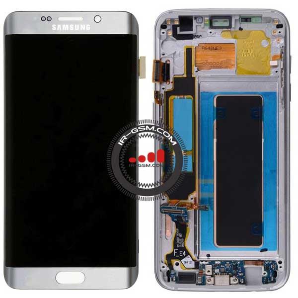 تاچ ال سی دی سامسونگ Samsung S7 Edge G935 بافریم نقره ای
